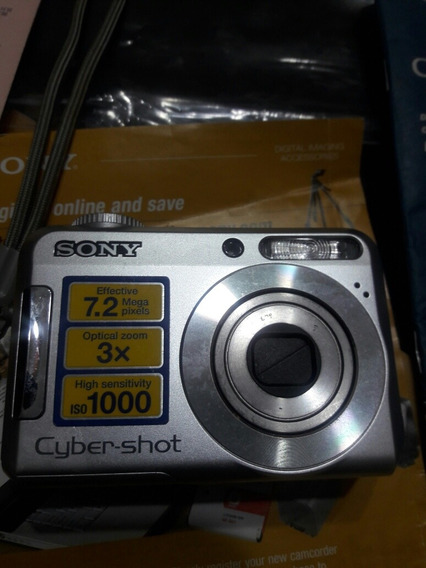 Cyber-shot Dsc-s650/s700 Maquina Fotográfica Digital