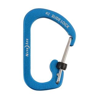 Mosqueton Carabiner #2 De Aluminio Azul Nite Ize