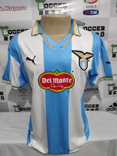 Camisa Lazio 1999-00 Veron 23 Champions League À P/ Entrega