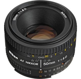 Lente Nikon Nikkor 50mm F/1.8 D