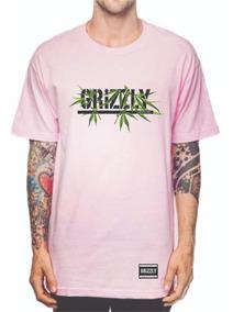 Camiseta Camisa Grizzly Urso Diamond Erva Modelo Novo