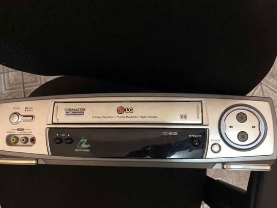 Video Cassete C Defeito Vhs Videocassete LG Leia A Descrição