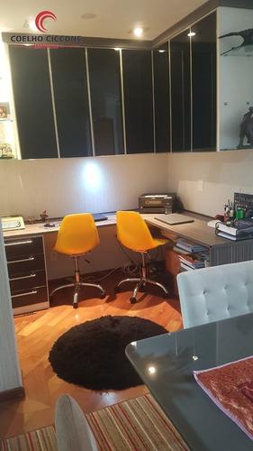 Imagem 1 de 15 de Apartamento A Venda No Centro De Santo Andre - V-4637