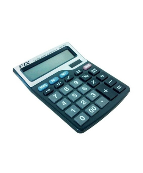Calculadora De Mesa 12 Dígitos Grande Eletrônica