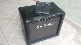 Cubo Meteoro Nitrous Drive 15w + Pedaleira Zoom 505ii