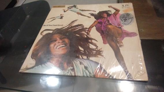 Lp Ike And Tina Turner Feel Good En Acetato,long Play