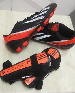 Zapatos De Futbol Campo adidas Tacos Guayos Canilleras
