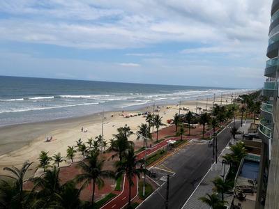 Amplo Apto Para Temporada Frente P/o Mar - Praia Grande
