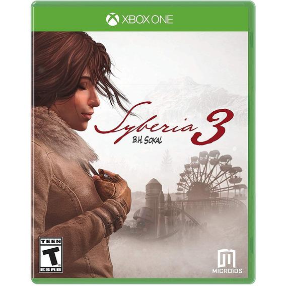 Syberia 3 Xbox One Mídia Física Novo Lacrado