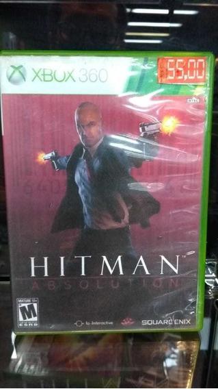 Hitman Absolution Xbox 360 Capa Impressa (frete 18 Reais)