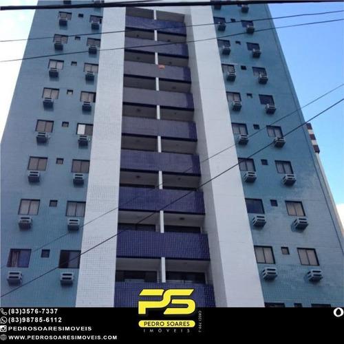 Apartamento Com 3 Dormitórios À Venda, 135 M² Por R$ 380.000,00 - Manaíra - João Pessoa/pb - Ap4966