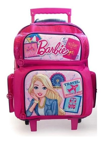 Mochila Barbie Carro Trip 18 Pulgadas (16791w)