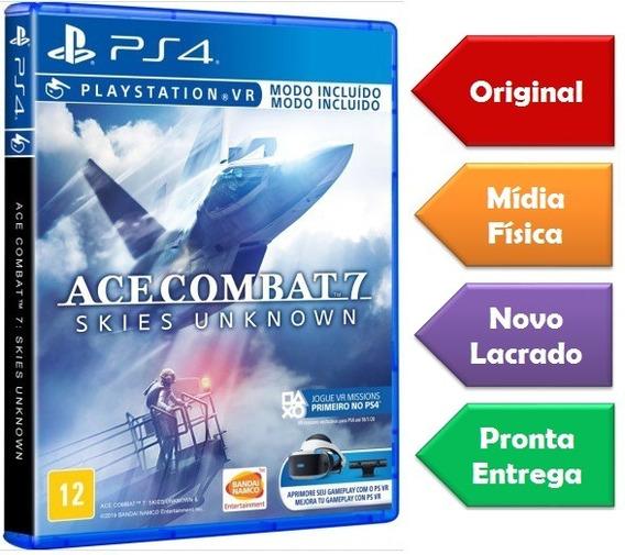 Ace Combat 7 Ps4 Mídia Física Lacrado Pronta Entrega Lacrado