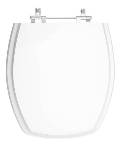 Imagem 1 de 6 de Tampa De Vaso Thema Branco Para Bacia Incepa 1.6gpf 6lpf