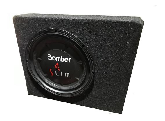Subwoofer Bomber Slim 8 200w Rms 4 Ohms + Cajon Extrachato