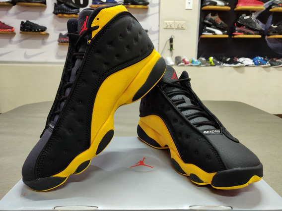 Air Jordan Retro 13 Melo Class Of 2002 Negro-amarillo