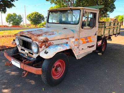 Toyota Bandeirante Jeep Jipe Willys 12.500,00 Nao Tem Doc