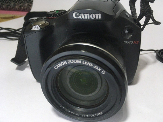 Camera Canon Powershot Sx40 Muito Nova