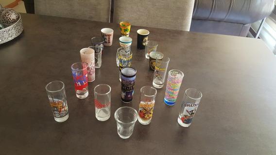 20 Vasos Chupitos Internacionales/ Personalizados
