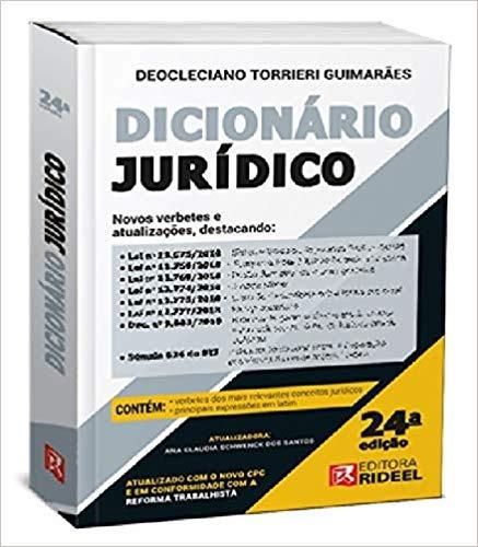 Dicionario Universitario Juridico - Ride Deocleciano Torrie