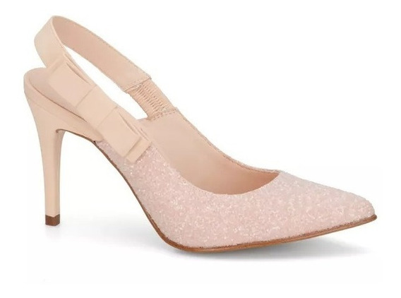 Zapatillas Andrea Glitter Rosas Escarcha 2620329 Mod. 8073