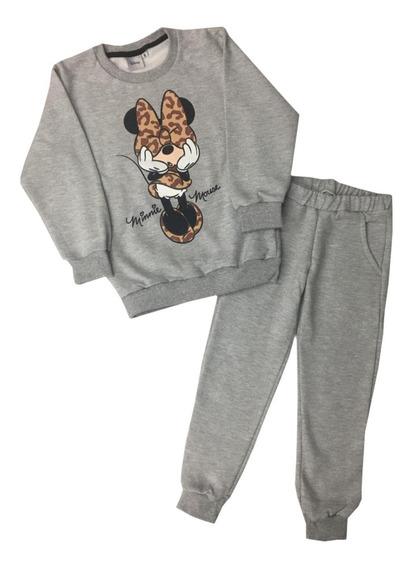 Conjunto Pantalon Y Buzo Minnie Disney Fty Calzados
