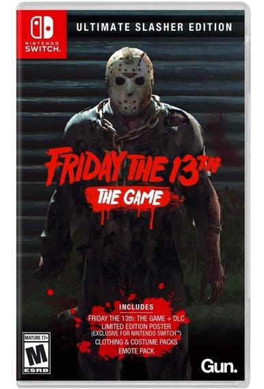 Friday The 13th Ultimate Slasher Edition Switch Mídia Física