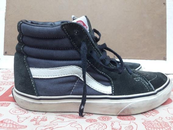 Sapatillas Vans Negras Abotinada N 36