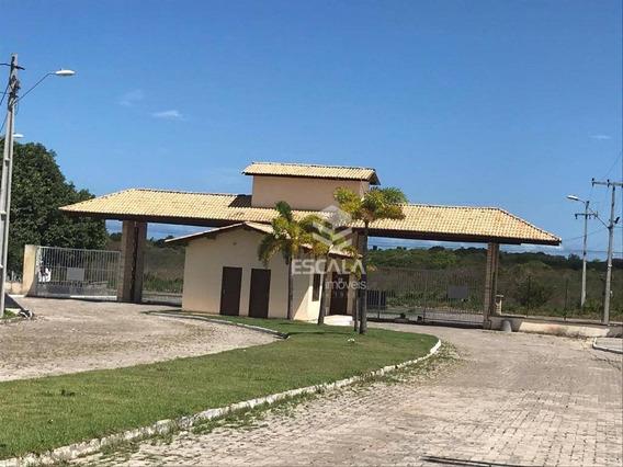 Lote À Venda, 304 M², Vila Do Porto, Condomínio Fechado, Financia - Lagoa Do Banana - Caucaia/ce - Te0199