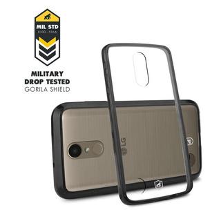 Case Ultra Slim Air Preta Para LG K10 2017 - Gorila Shield