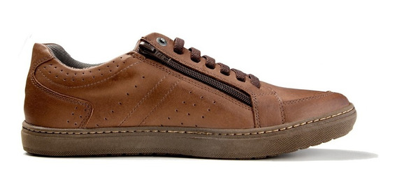 Sapatênis Casual Couro Masculino Mboots