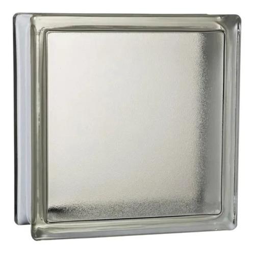 Ladrillo De Vidrio Satinado Primera Calidad 19 X 19 X 8