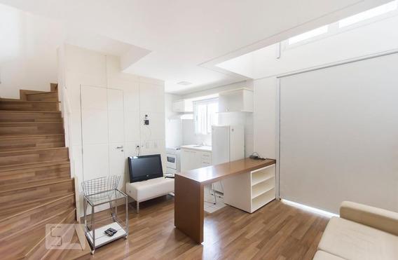 Apartamento No 5º Andar Com 1 Dormitório E 1 Garagem - Id: 892984744 - 284744