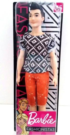 Barbie Fashionistas Boneco Ken #115 Fxl62 - Mattel