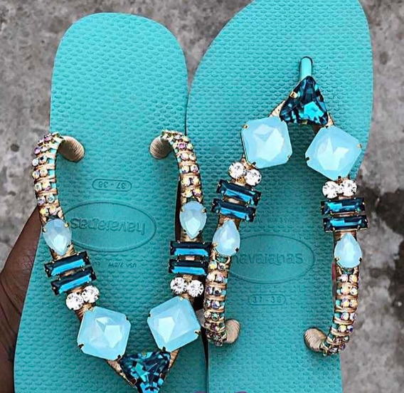 Havaianas Personalizada Luxo