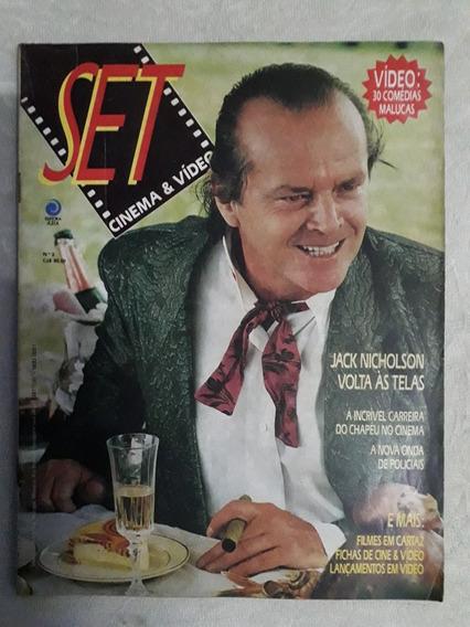 Revista Set Número 3 - Editora Azul - 1987