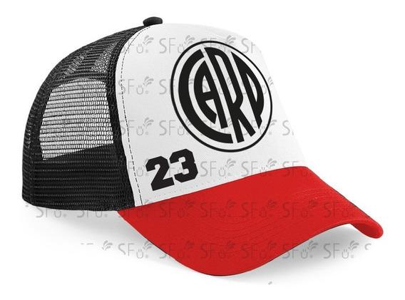 Gorra Trucker Camionera River Plate Club Números Jugadores