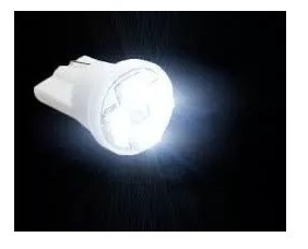 Lampada Pingo T10 4 Leds Smd Branca Automotiva
