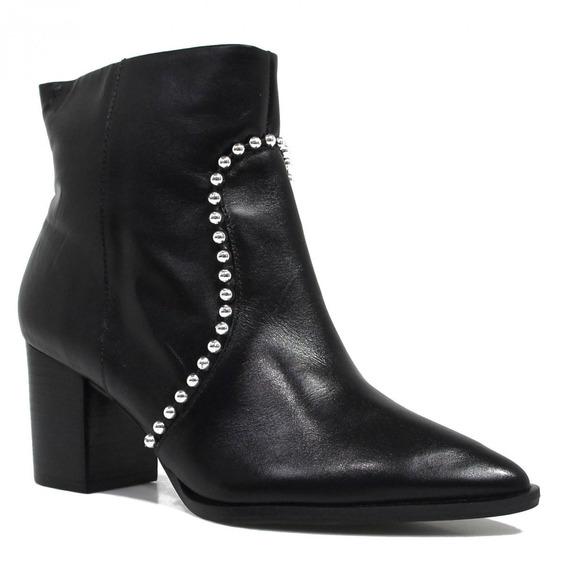 Bota Zariff Shoes Ankle Boot Metais 1390603