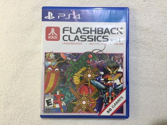 Atari Flashback Ps4 Vol 1 Midia Fisica Jogo Raro Seminovo