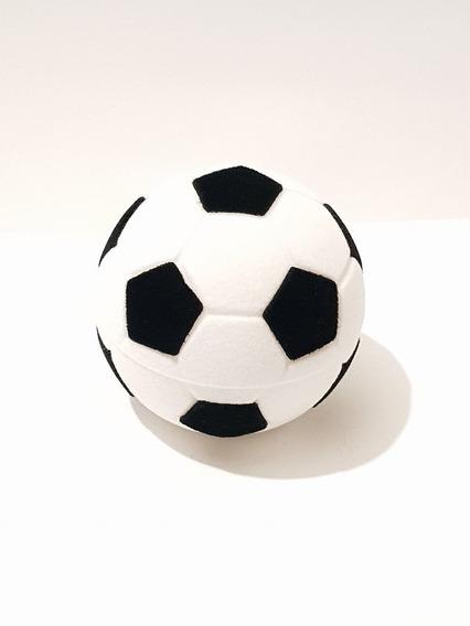 Estuche De Terciopelo De Balon Futbol Para Anillo