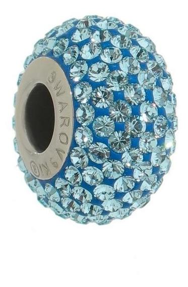 Becharmed Swarovski Cravejado Azul - Cor Azul