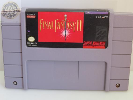 Ref. 233 Final Fantasy Ii Original Snes Super Nintendo
