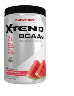 Xtend Bcaas 306 Gramas (120 Doses ) - Scivation