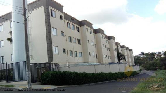 Apartamento Para Venda Em São Carlos, Jardim Brasil, 2 Dormitórios, 1 Banheiro, 1 Vaga - La342