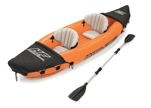 Kayak Inflable 1ó2 Plazas Bestway Lite-rapid X2 Con Un Remo
