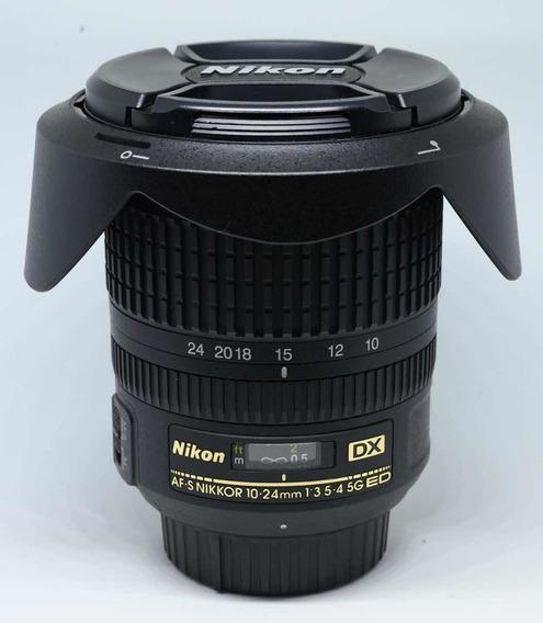 Lente Nikon Dx 10-24mm F/ 3,5-4,5