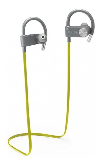 Fone Earhook In Ear Sport Metallic Áudio Bluetooth Pulse Ph
