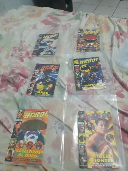 45 Revistas Heroi E Heroi Gold Editora Sampa Conservadas