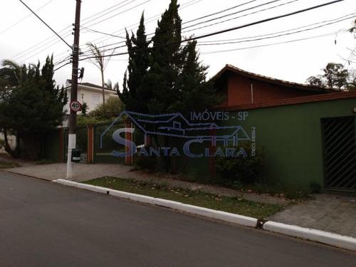 Imagem 1 de 15 de Casa Térrea Para Venda No Bairro Interlagos Em São Paulo - Cod: Sc9587 - Sc9587
